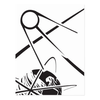 Cartão Postal Sputnik sobre a terra preto e branco