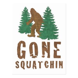 Cartão Postal Squatchin ido (vintage)