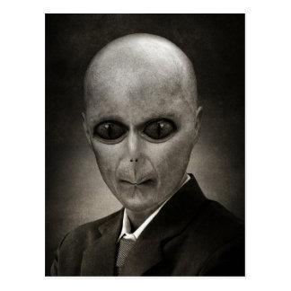 Cartão Postal Sr. Alienígena