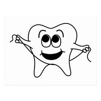 Cartão Postal Sr. Feliz Dente