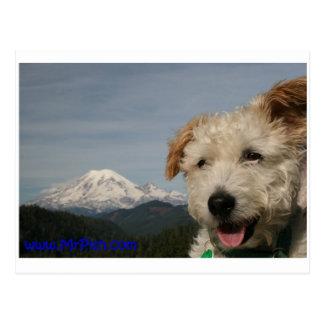 Cartão Postal Sr. Pish Descoberta o Monte Rainier