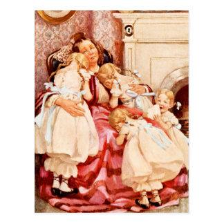 Cartão Postal Sra. Kenwigs e os quatro pouco Kenwigses
