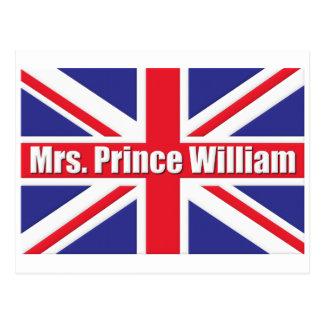 Cartão Postal Sra. príncipe William