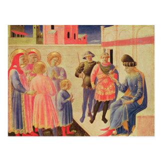 Cartão Postal SS. Cosmas e Damian antes de Diocletian