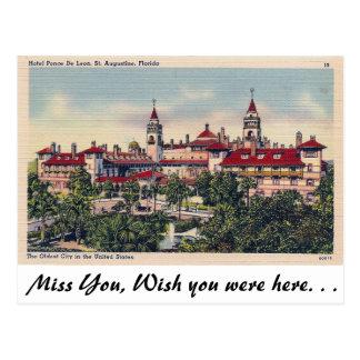 Cartão Postal St Augustine, Florida