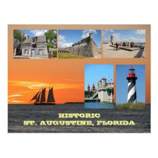 Cartão Postal St Augustine histórico, Florida