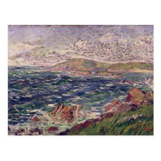 Cartão Postal St. Briac, 1885 (óleo em canvas)