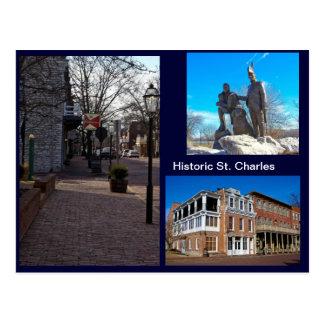 Cartão Postal St Charles histórico