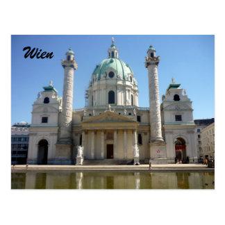 Cartão Postal St Charles Viena
