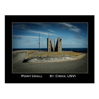 Cartão Postal St. Croix E.U. Virgin Islands de Udall do ponto