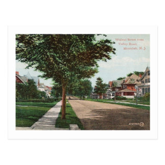 Cartão Postal St. da noz, Montclair, vintage de NJ