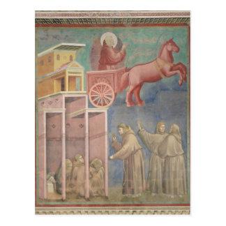Cartão Postal St Francis aparece a seus companheiros