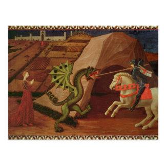 Cartão Postal St George e o dragão, c.1439-40
