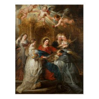 Cartão Postal St. Idelfonso - Peter Paul Rubens do Triptych