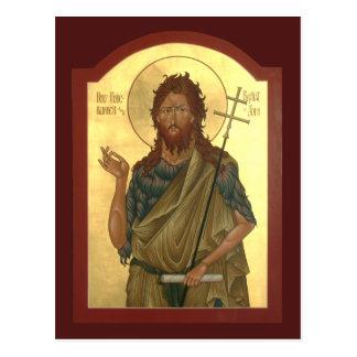 Cartão Postal St John a oração do precursor e do baptista carda