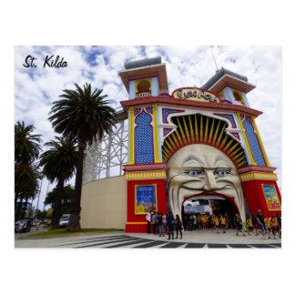 Cartão Postal St. Kilda Luna Park