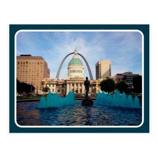 Cartão Postal St Louis, arco do MO