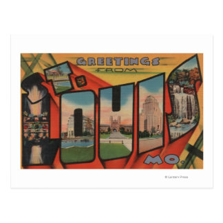 Cartão Postal St Louis, Missouri - grandes cenas 2 da letra