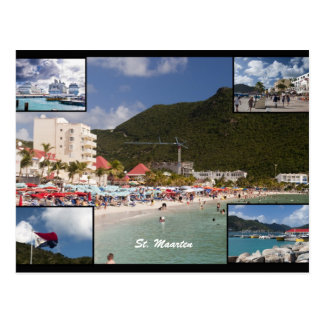 Cartão Postal St. Maarten