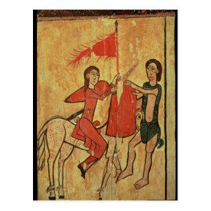Cartão Postal St Martin e o mendigo