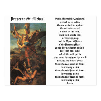 Cartão Postal St Michael o arcanjo