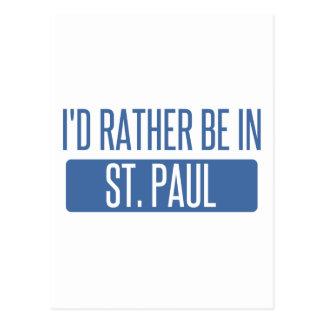 Cartão Postal St Paul