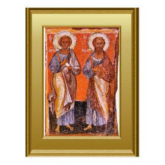 Cartão Postal St Peter e St Paul,