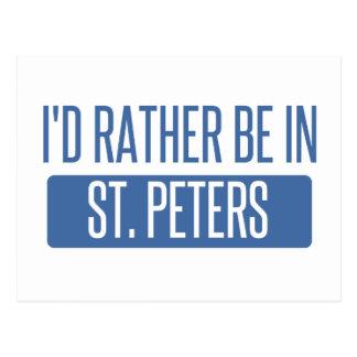 Cartão Postal St Peters