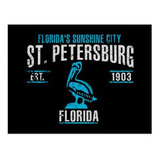 Cartão Postal St Petersburg