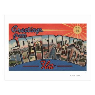 Cartão Postal St Petersburg, Florida - grandes cenas 4 da letra
