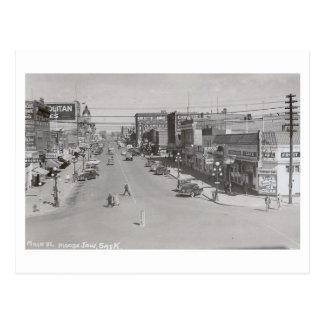 Cartão Postal St. principal, maxila dos alces, vintage de