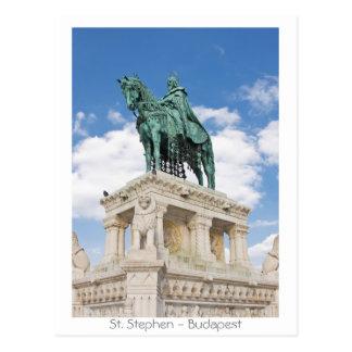Cartão Postal St Stephen - Budapest