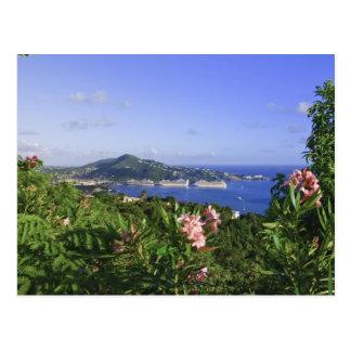 Cartão Postal St Thomas, E.U. Virgin Islands. Charlotte