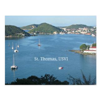 Cartão Postal St Thomas, USVI
