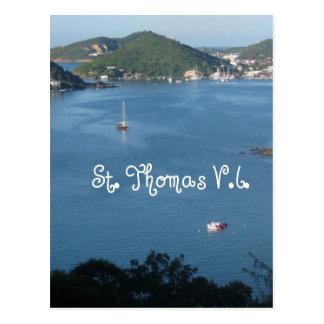 Cartão Postal St Thomas, V.I.