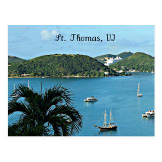 Cartão Postal St Thomas, VI