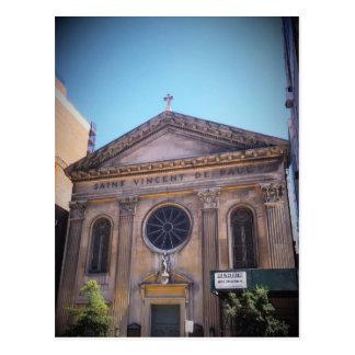Cartão Postal St. Vincent De Paul - em um estado de abandono
