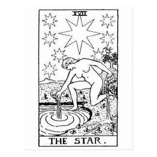 Cartão Postal Star de Tarot '