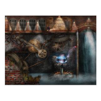 Cartão Postal Steampunk - sociedade industrial