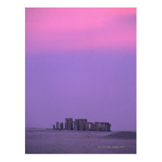Cartão Postal Stonehenge, Inglaterra