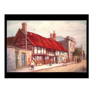 Cartão Postal Stratford-em cima-Avon, a corte do pedreiro