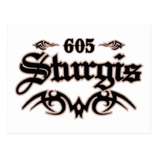 Cartão Postal Sturgis 605