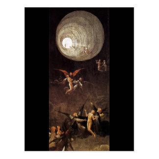 Cartão Postal Subida da abençoada, por Hieronymus Bosch