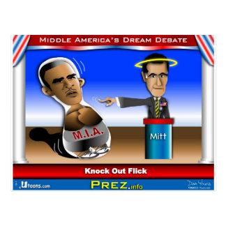 Cartão Postal Súbito do debate