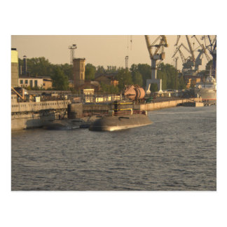 Cartão Postal Submarinos do russo
