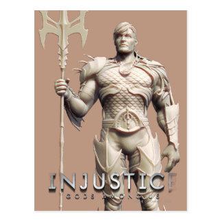 Cartão Postal Substituição de Aquaman