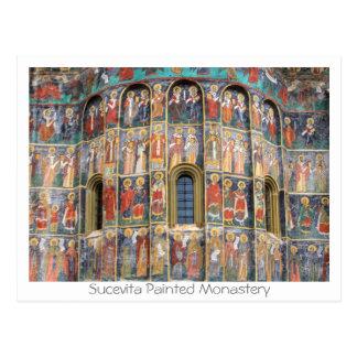 Cartão Postal Sucevita pintou o monastério