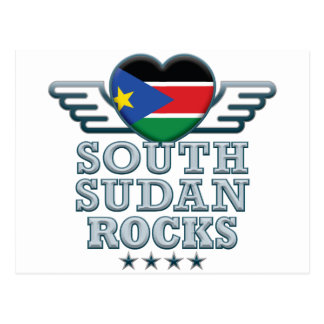 Cartão Postal Sudão sul balança v2