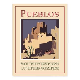 Cartão Postal Sudoeste dos povoados indígenos