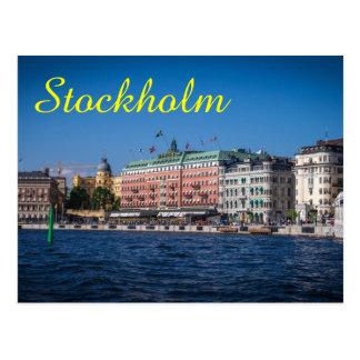 Cartão Postal Suecia de Éstocolmo